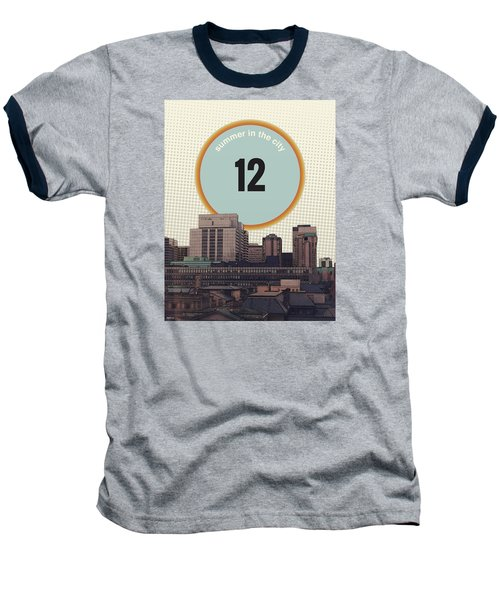 Baseball T-Shirt featuring the photograph Summer In The City by Phil Perkins