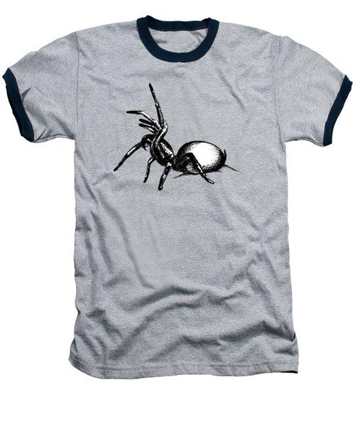 Sydney Funnel Web Baseball T-Shirt by Nicholas Ely