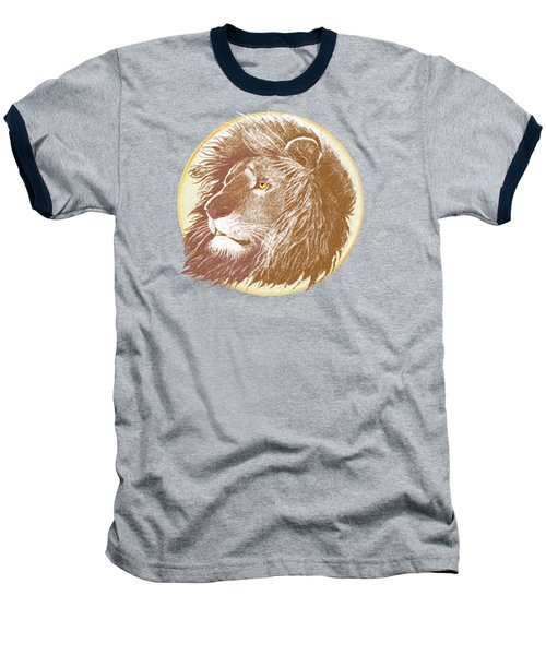The One True King Baseball T-Shirt by J L Meadows