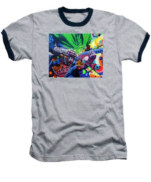 Trey Anastasio 4 Baseball T-Shirt by Kevin J Cooper Artwork