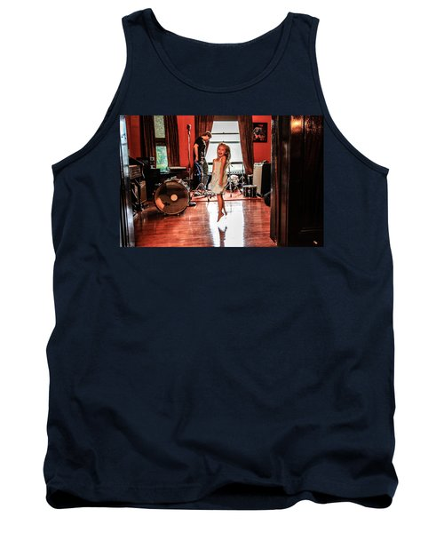 Brooklyn Dancing Tank Top by Ray Congrove