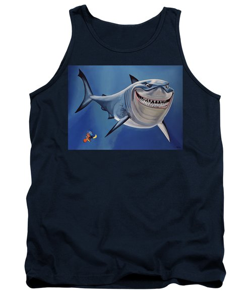 Finding Nemo Painting Tank Top
