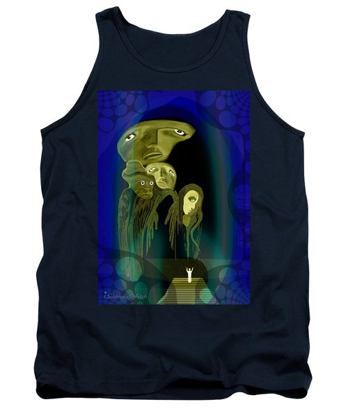 028 -  The  Arrival Of The Gods  Tank Top
