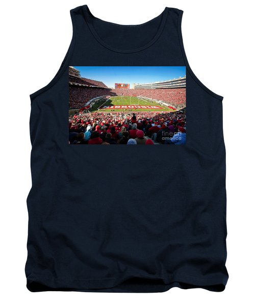 0814 Camp Randall Stadium Tank Top