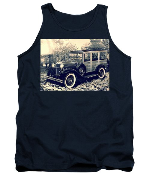 1931 Type 150-b Ford Tank Top by Carlos Avila
