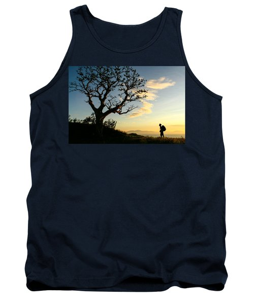 Approaching Summit Tank Top