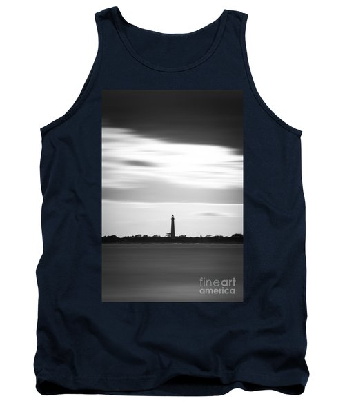 Cape May Lighthouse Vertical Long Exposure Tank Top