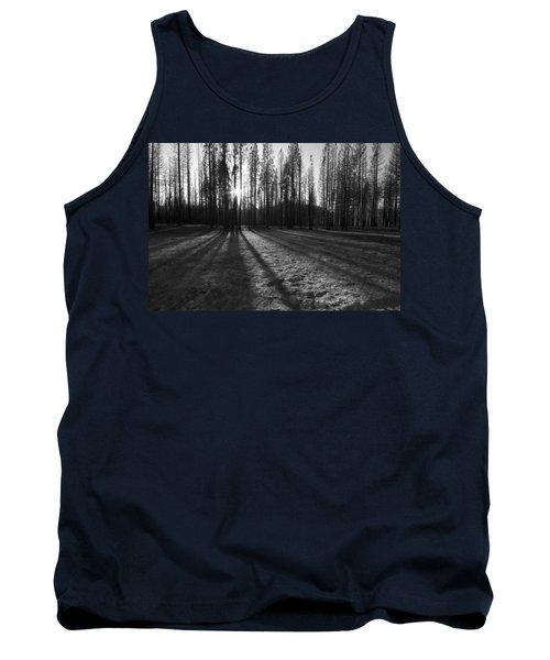 Charred Silence - Yosemite Rim Fire 2013 Tank Top