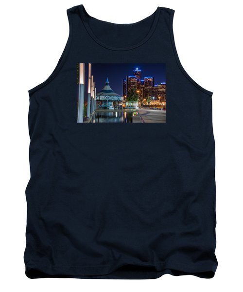 Detroit Riverwalk  Tank Top