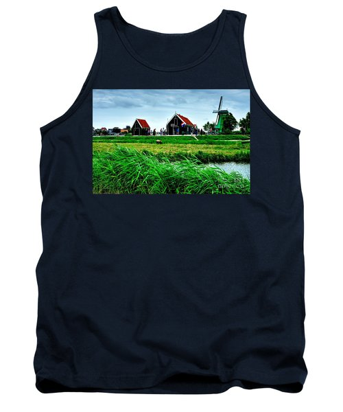 Tank Top featuring the photograph Dutch Village by Joe  Ng