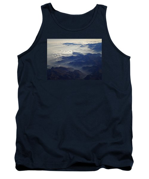 Flying Over The Alps In Europe Tank Top by Colette V Hera  Guggenheim