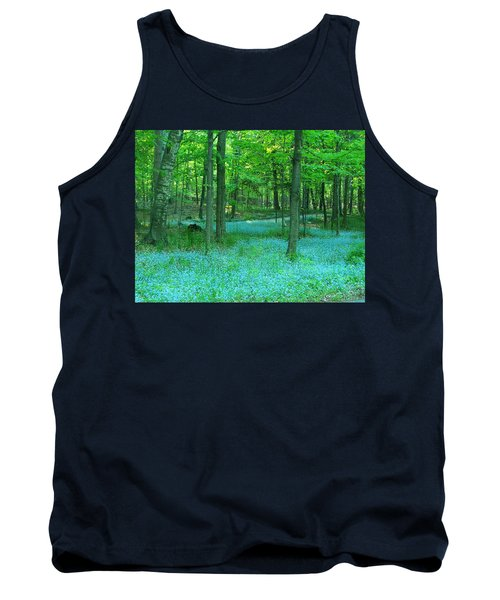 Forget-me-nots In Peninsula State Park Tank Top