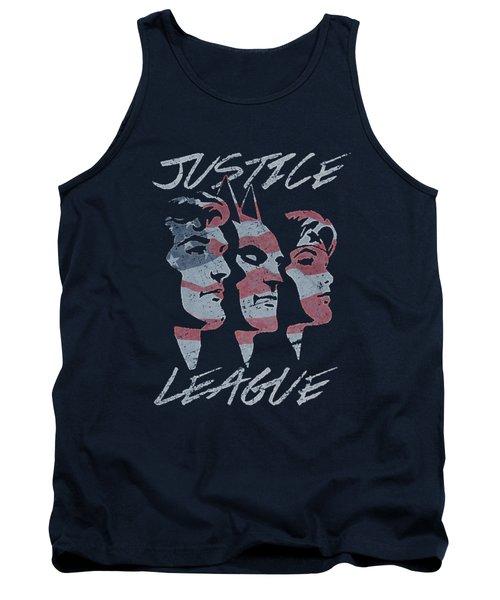 Jla - Justice For America Tank Top