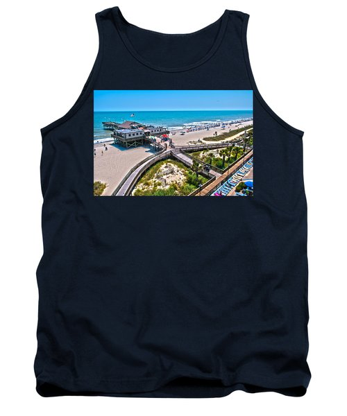 Tank Top featuring the photograph Myrtle Beach South Carolina by Alex Grichenko