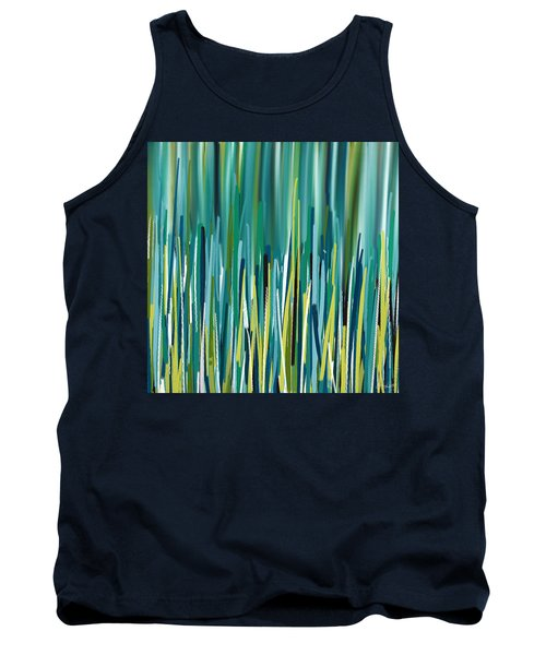 Peacock Spikes Tank Top