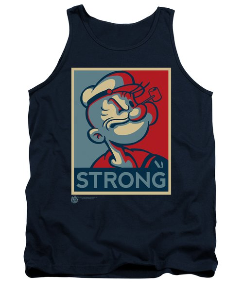 Popeye - Strong Tank Top by Brand A