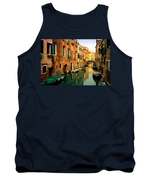 Reflections Of Venice Tank Top