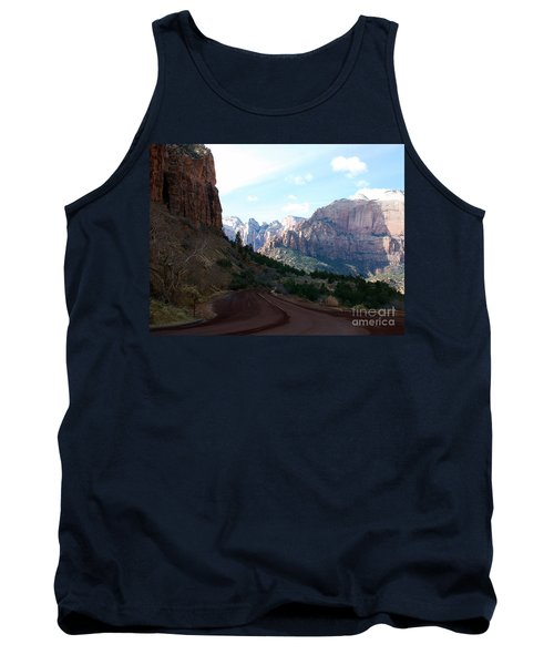 Road Through Zion National Park Tank Top