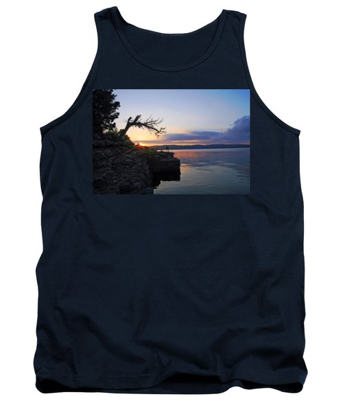 Sunrise Over Table Rock Lake Tank Top