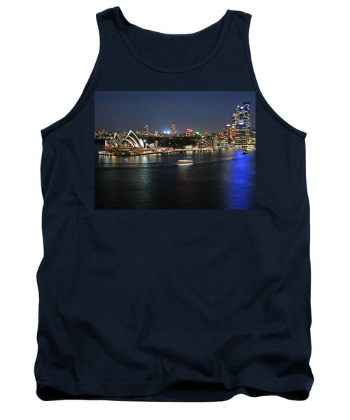 Sydney Harbor At Circular Quay Tank Top by Ellen Henneke