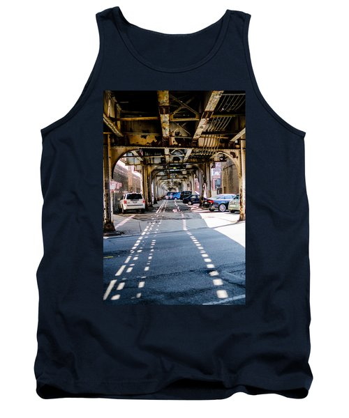 Under The L Tracks Tank Top