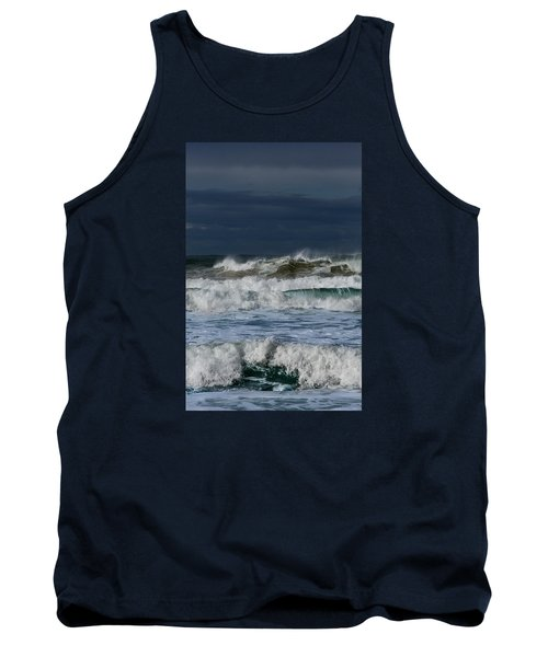 Tank Top featuring the photograph Wave After Wave by Edgar Laureano