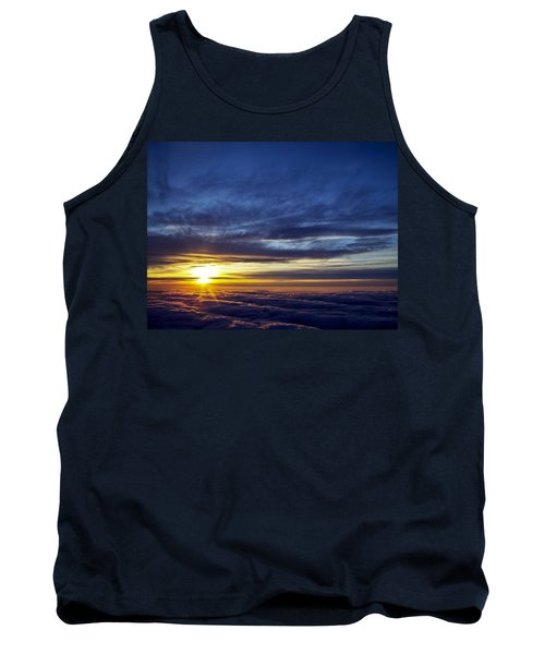 Tank Top featuring the photograph Winter Dawn Over New England by Greg Reed
