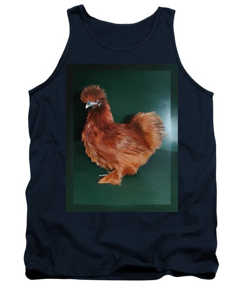 19. Red Silkie Hen Tank Top