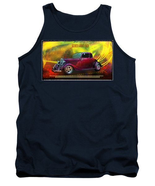 1934 Ford 5 Window Gennie Tank Top