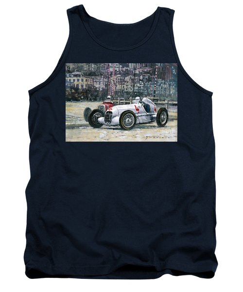 1935 Monaco Gp Mercedes-benz W25 #4 L. Fagioli Winner  Tank Top