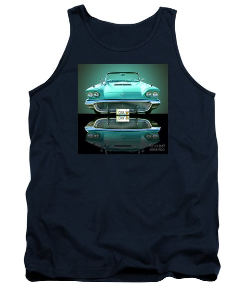 1959 Ford T Bird Tank Top by Jim Carrell