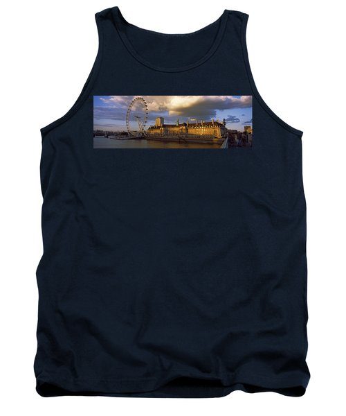 Ferris Wheel At The Waterfront Tank Top