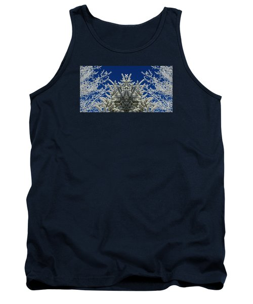Tank Top featuring the photograph Frosty by Janice Westerberg