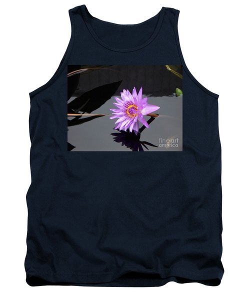 Lavender Lily Tank Top by Eric  Schiabor
