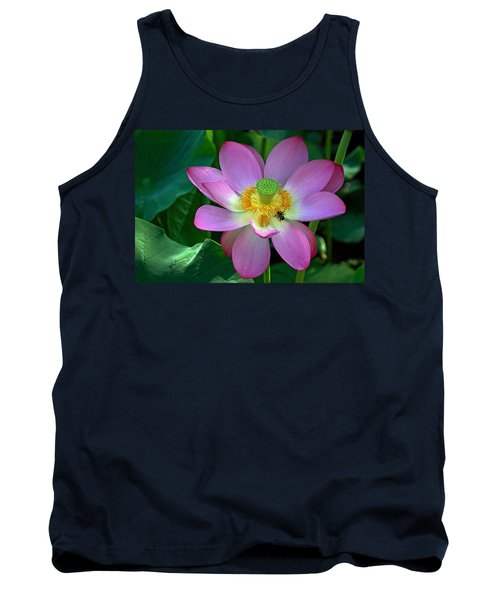 Tank Top featuring the photograph Lotus Flower by Jerry Gammon
