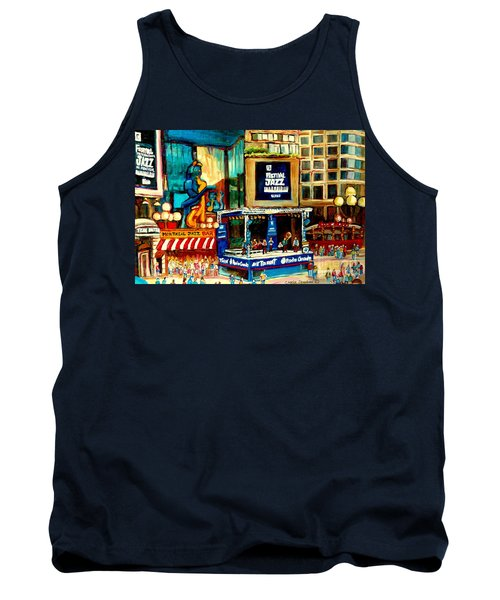 Montreal International Jazz Festival Tank Top