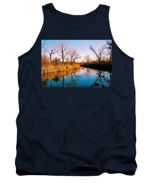 Tank Top featuring the photograph November by Daniel Thompson