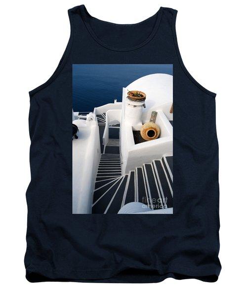 Santorini Steps Tank Top