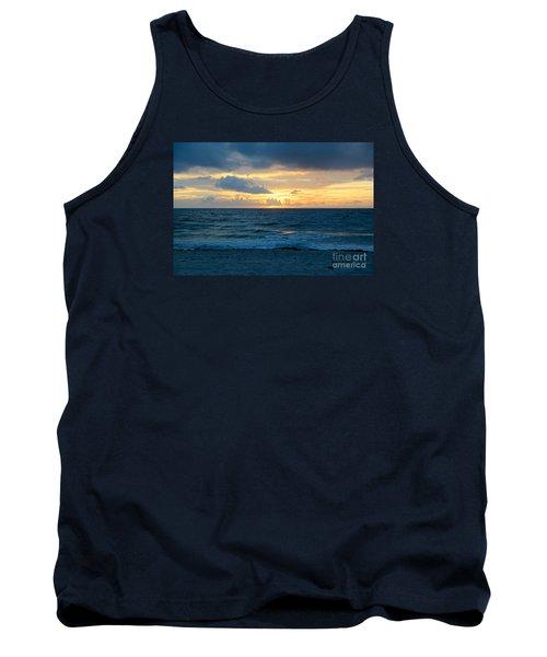 Tank Top featuring the photograph Sunrise In Deerfield Beach by Rafael Salazar