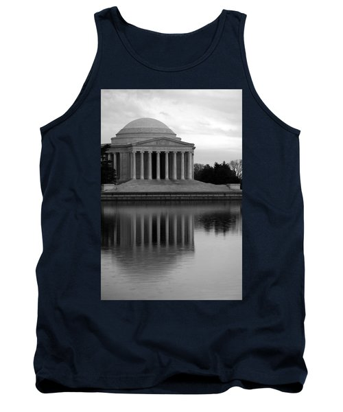 Tank Top featuring the photograph The Jefferson Memorial by Cora Wandel