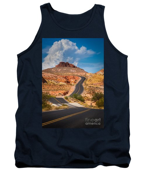 Valley Of Fire Tank Top