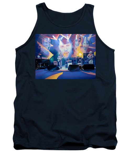 Tank Top featuring the drawing 20 Years Later by Joshua Morton