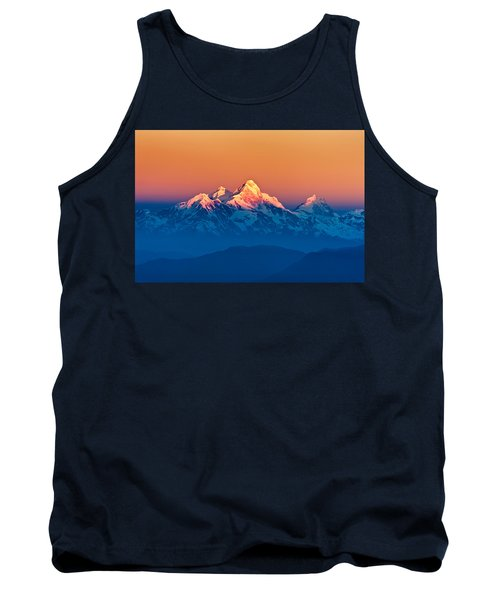 Himalayan Mountains View From Mt. Shivapuri Tank Top