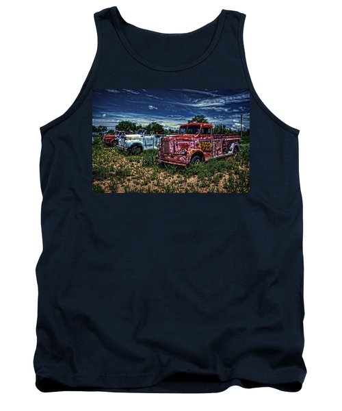 Tank Top featuring the photograph 3 In A Row by Ken Smith