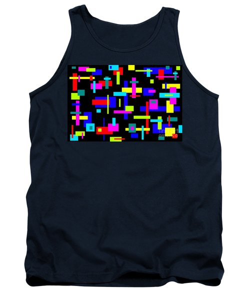 Tank Top featuring the photograph 60's Jazz by Mark Blauhoefer