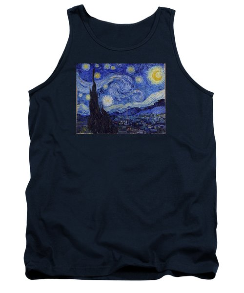 Starry Night Tank Top by Vincent Van Gogh