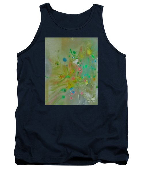 A Bird In Flight Tank Top by Robin Coaker