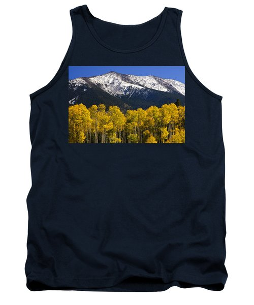 A Dusting Of Snow On The Peaks Tank Top
