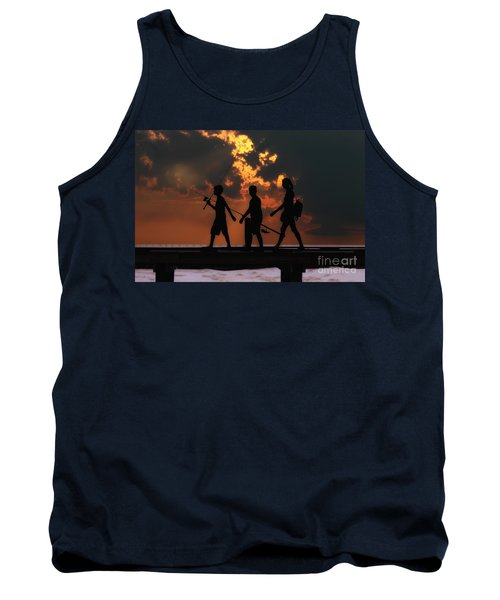 A Fishing We Will Go Tank Top