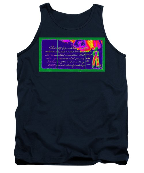 A Friendship Letter Tank Top